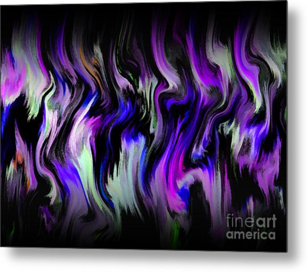 Metal Print featuring the digital art Color Expression by Mihaela Stancu