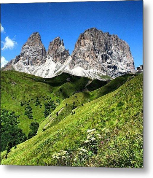 Dolomites Metal Print