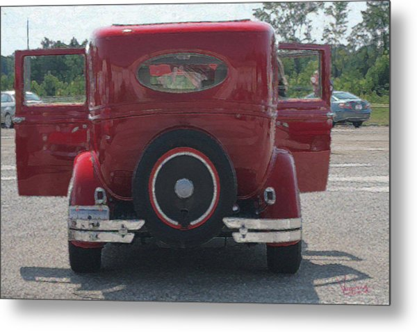 2 Door Coupe Metal Print