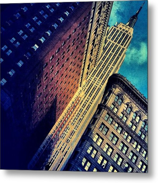 Empire State Building - New York Metal Print
