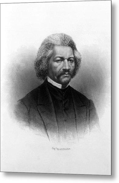 Frederick Douglass Ca 1817-1895 Metal Print by Everett