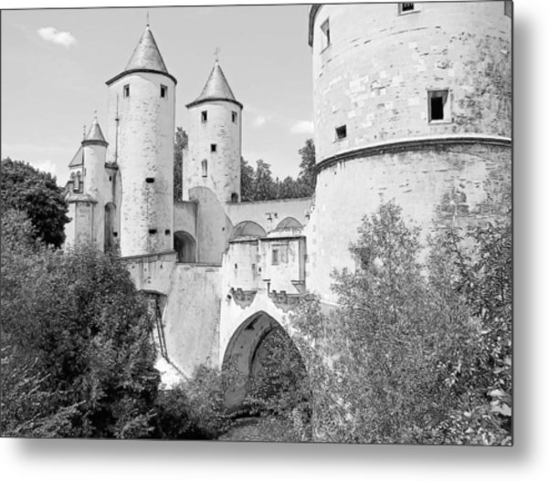 Germans Gate Metz France Metal Print
