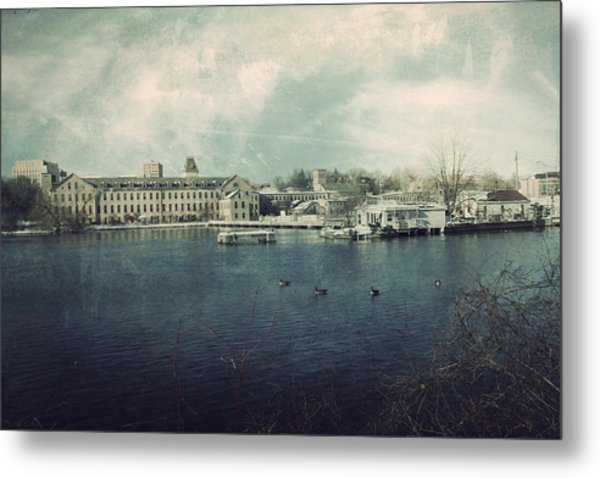 Historic Fox River Mills Metal Print