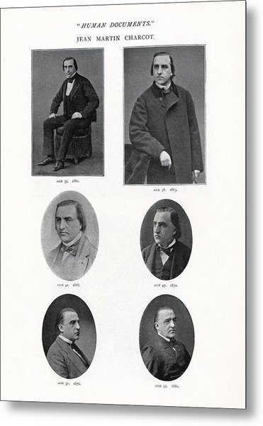Jean-martin Charcot, French Neurologist Metal Print by Humanities & Social Sciences Librarynew York Public Library