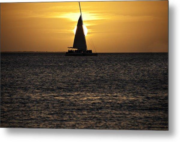 Key West Sunset Metal Print