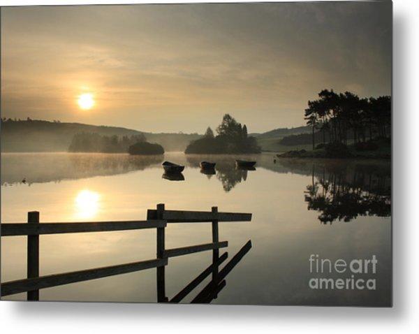 Knapps Loch Sunrise Metal Print