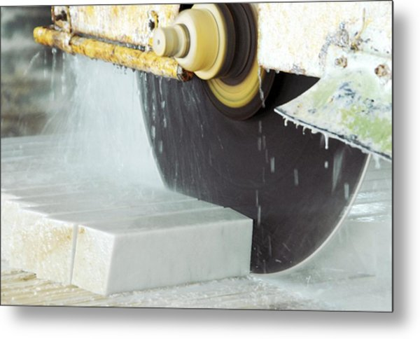 Marble Quarrying Metal Print by Ria Novosti