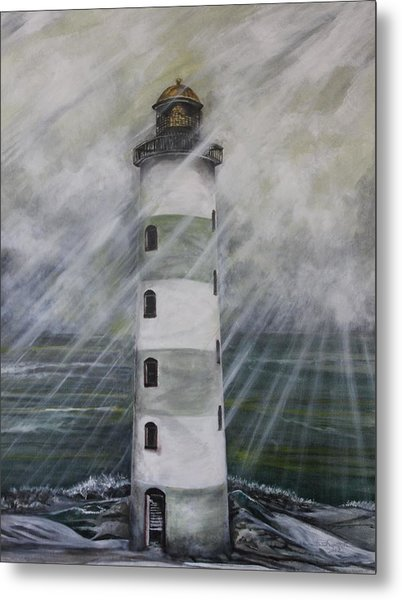 Point Lookout Lighthouse Metal Print