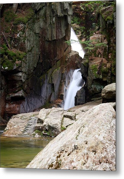 Sabbaday Falls Metal Print by David Gilman