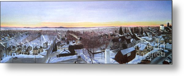 Sentinels At Dawn Metal Print