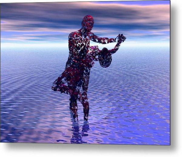 Surreal Dance Metal Print