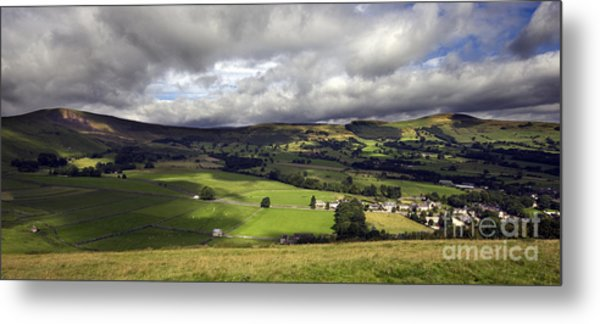The Hope Valley Derbyshire Metal Print by Darren Burroughs