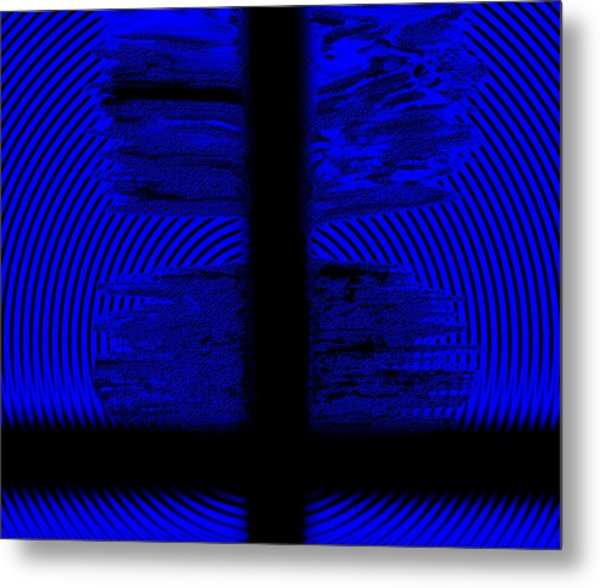 Metal Print featuring the digital art The Target by Mihaela Stancu
