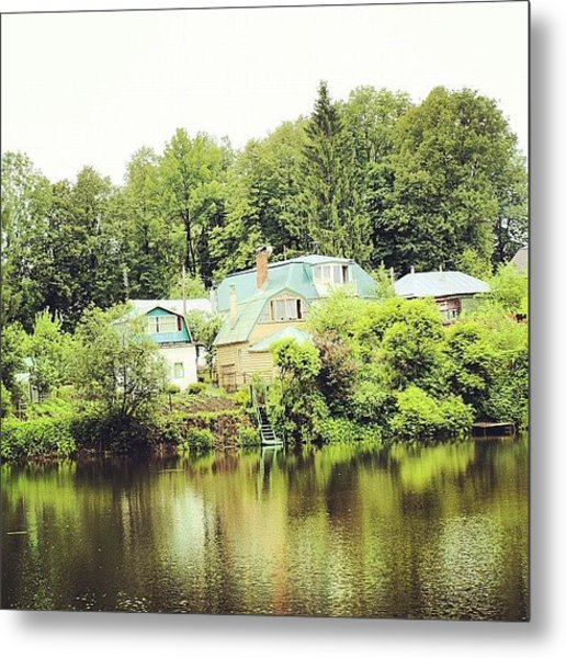 Yasnaya Polyana Estate Of Leo Metal Print