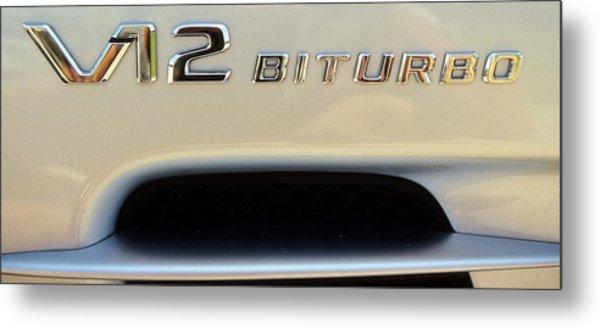 2009 Biturbo V12 Mercedes Metal Print