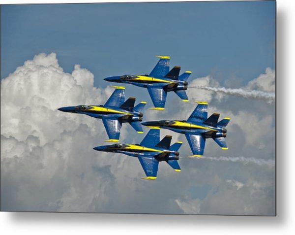 2012 U.s. Navy Blue Angels Metal Print
