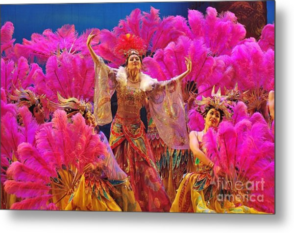 Asian Splendors Series Metal Print by Terry Troupe