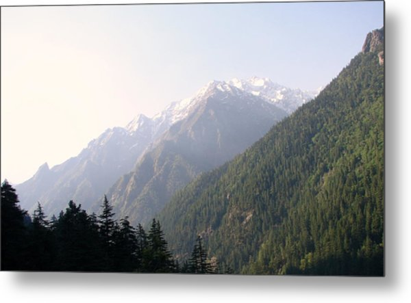Splendors Of Himalayas Metal Print by Anand Swaroop Manchiraju