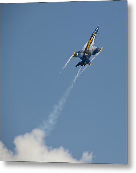 2012 U.s. Navy Blue Angels Metal Print