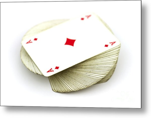 Ace Card Metal Print by Blink Images