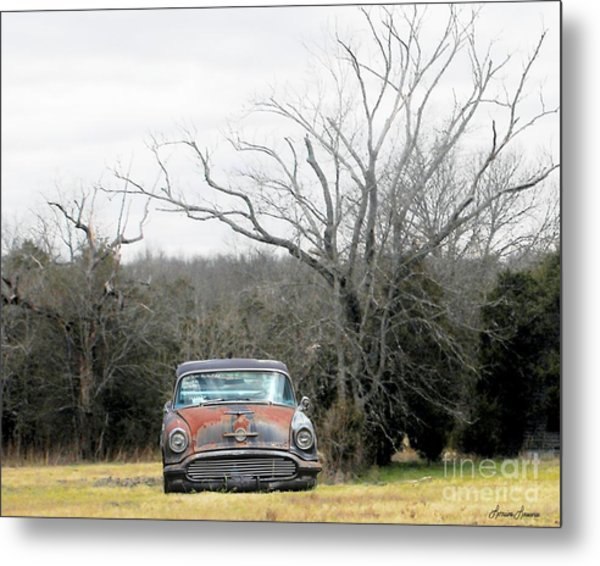 Days Gone By Metal Print by Lorraine Louwerse