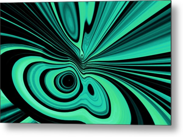 Metal Print featuring the digital art Entropia by Mihaela Stancu