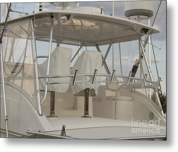 Fishing Boat Metal Print by Blink Images
