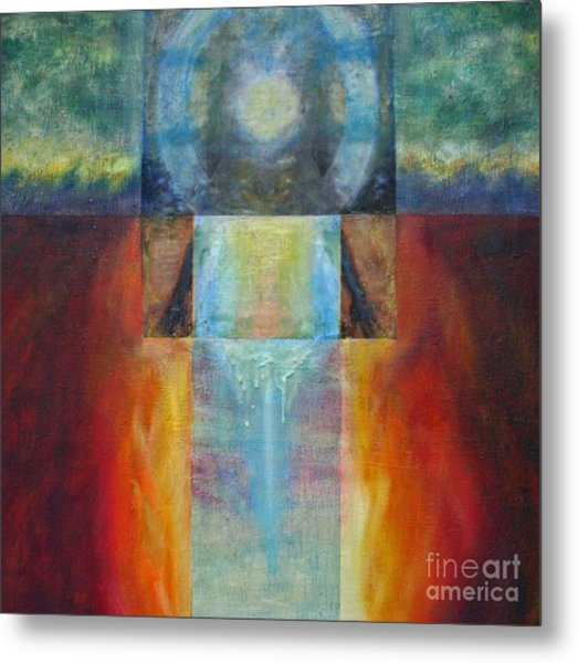 Light Of Mother Earth Metal Print