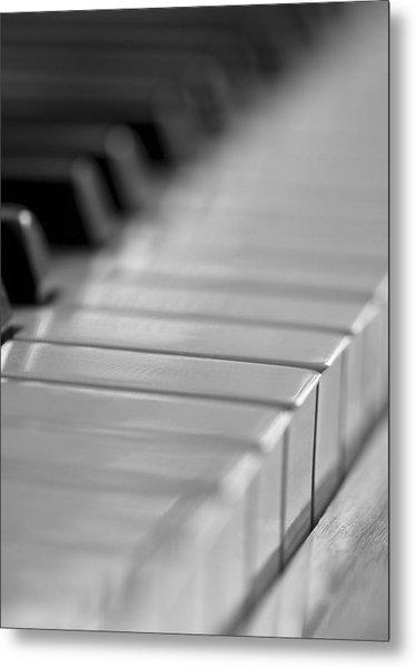 Piano Keys Metal Print by Falko Follert