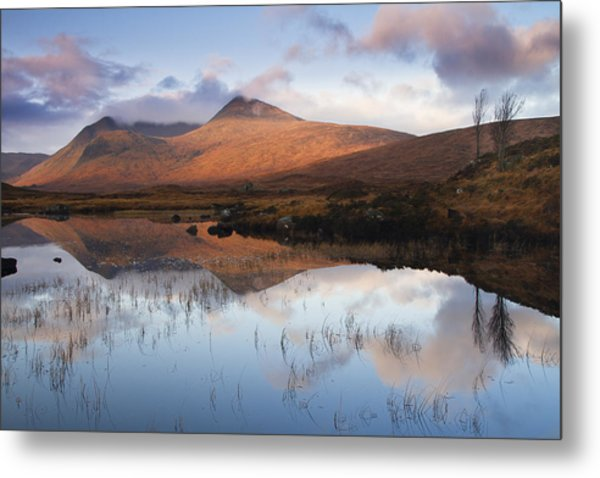Rannoch Moor At Sunrise Metal Print