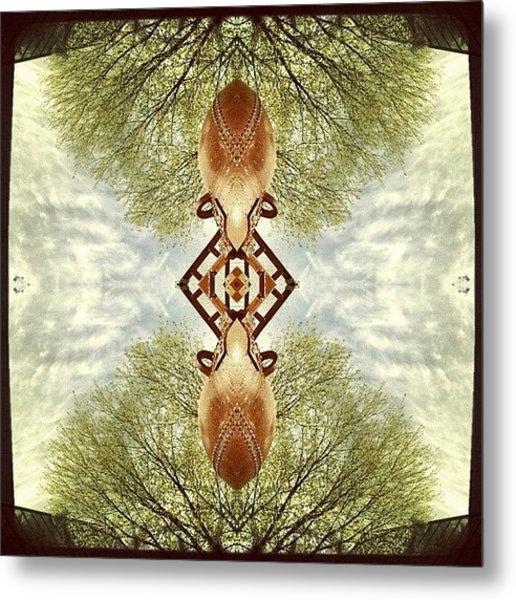 #scifi #symmetry #picoftheday Metal Print