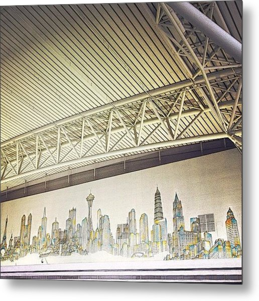 skyline Of The World By Matteo Metal Print