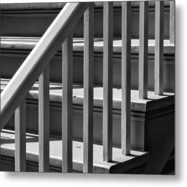 Stairs Metal Print by Robert Ullmann