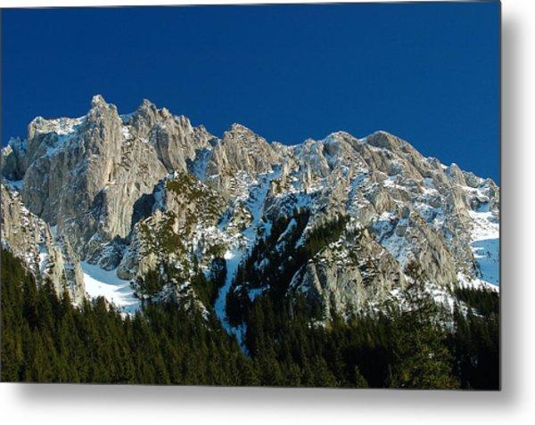 Tatra Mountains Winter Scenery Metal Print by Waldek Dabrowski