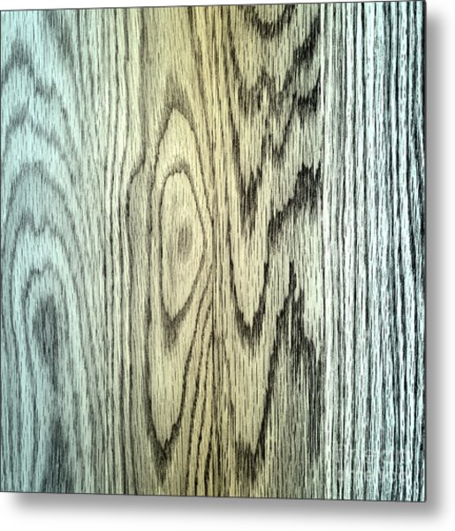 Wood Texture Metal Print by Blink Images