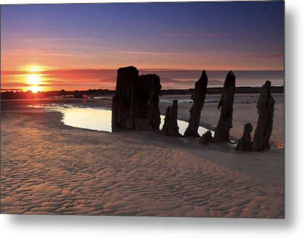 Ardrossan Sunset Metal Print