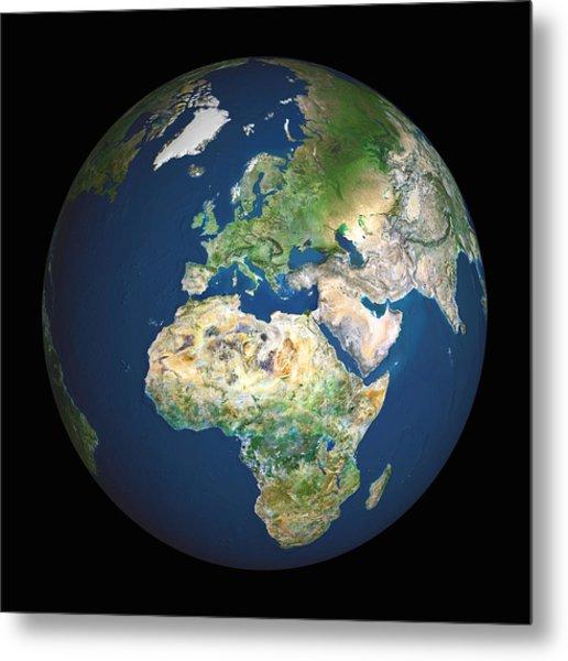 Earth Metal Print by Planetobserver