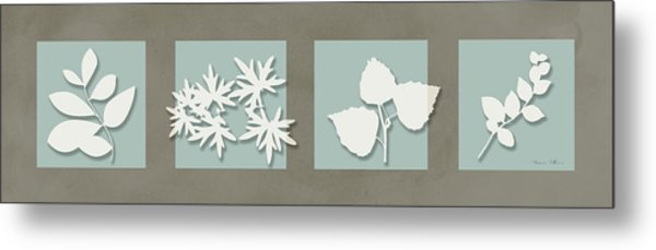 4 Flowers Metal Print by Nomi Elboim