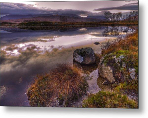 Rannoch Moor Glencoe Scotland Metal Print