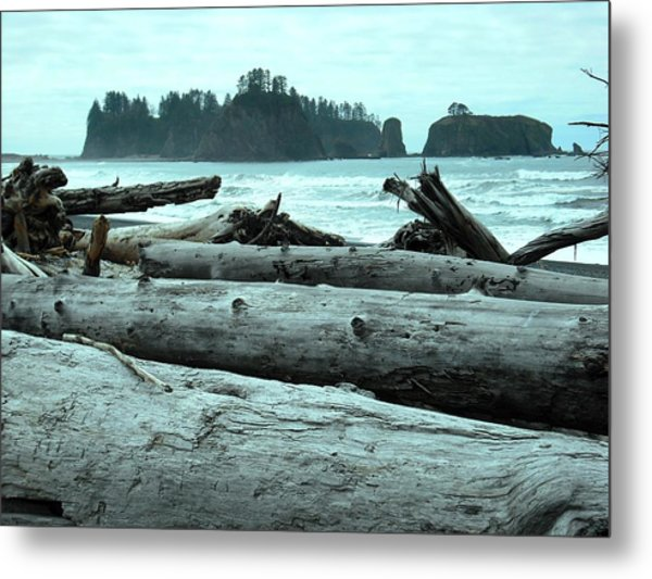 Rialto Beach La Push Metal Print