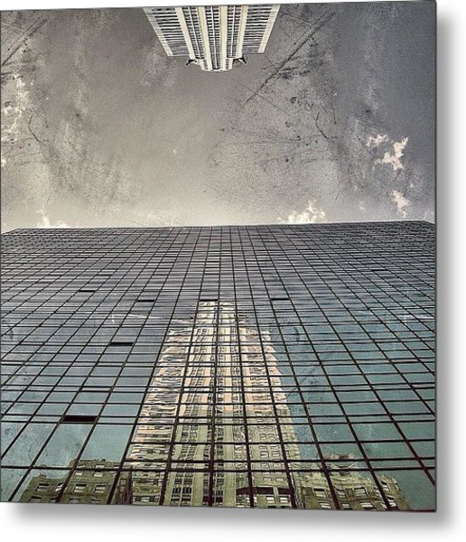 The Chrysler - New York Metal Print