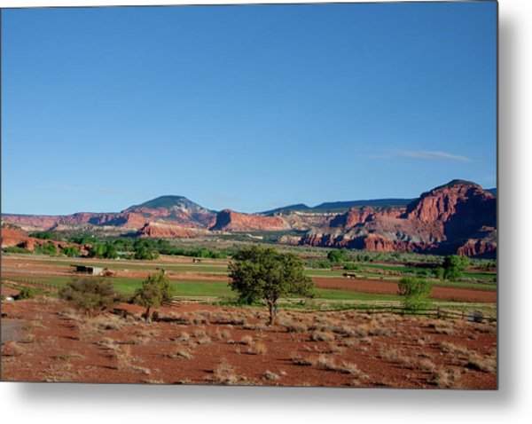 Capitol Reef National Park Metal Print by Southern Utah  Photography