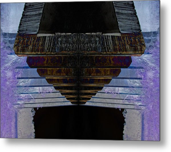 Tunnel Metal Print by Michele Caporaso