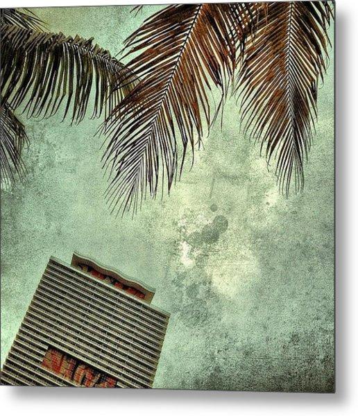 50 Biscayne - Miami Metal Print