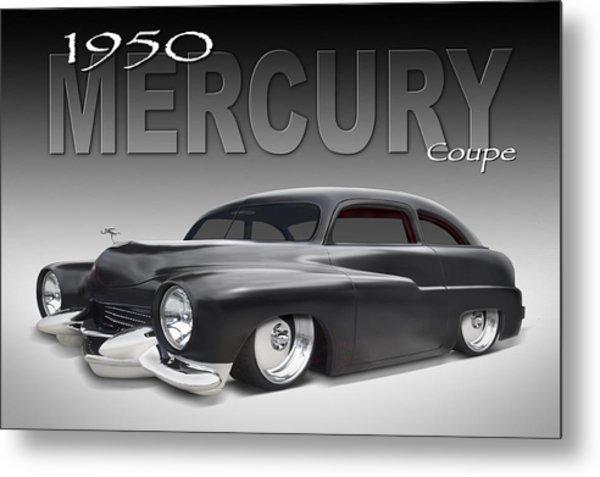 50 Mercury Coupe Metal Print