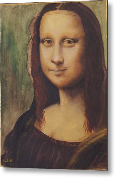 500 Years After Davinci Metal Print