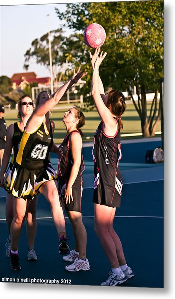 Australian Deaf Games 2012 Metal Print by Edan Chapman