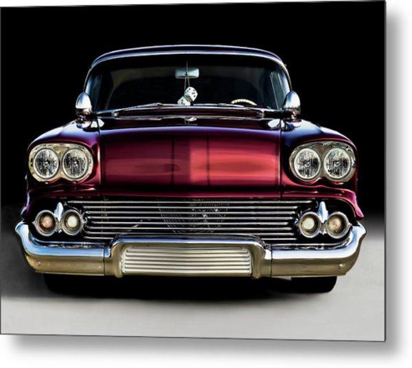 '58 Impala Custom Metal Print