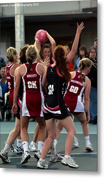 Australian Deaf Games 2012 Metal Print by Edan Chapman