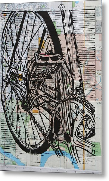 Bike 3 Metal Print